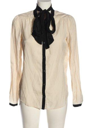 3suisses collection premium Shirt Blouse cream-black business style