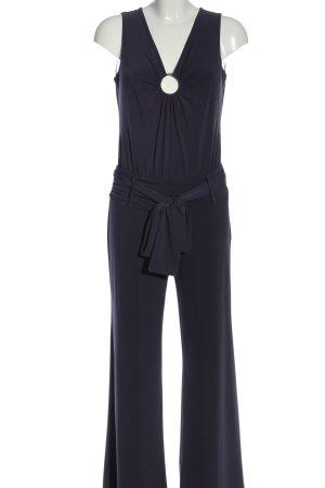 3suisses collection premium Langer Jumpsuit blu stile casual
