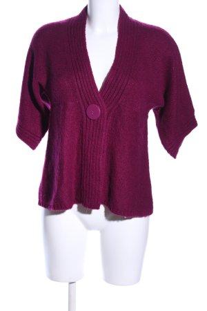 3 Suisses Cardigan tricotés rose style classique