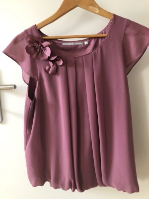 3 Suisses Sleeveless Blouse mauve polyester