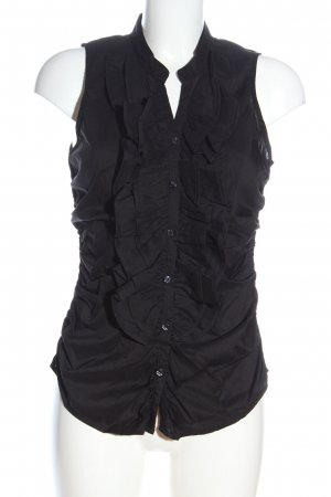 3suisses Hemd-Bluse schwarz Casual-Look