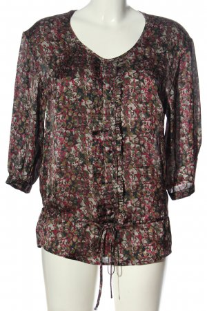 3suisses Hemd-Bluse Allover-Druck Elegant