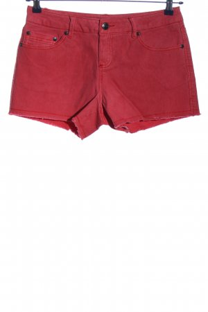 3suisses Jeansowe szorty czerwony W stylu casual