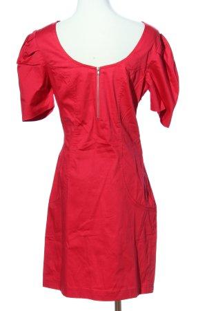 3suisses Sukienka z krótkim rękawem czerwony Elegancki