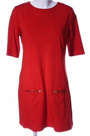 3suisses Sukienka z krótkim rękawem czerwony W stylu casual