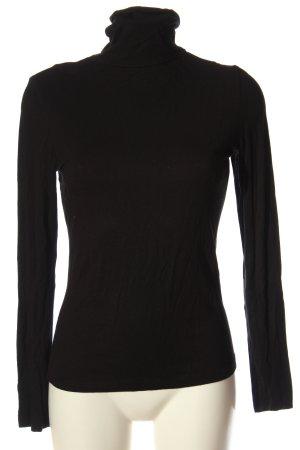 3suisses Sweter z golfem czarny W stylu casual