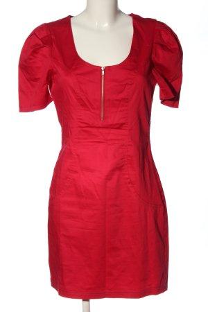 3suisses Sukienka midi czerwony W stylu casual