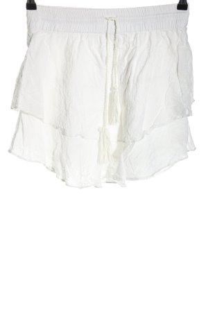 3suisses Spódnica mini biały W stylu casual