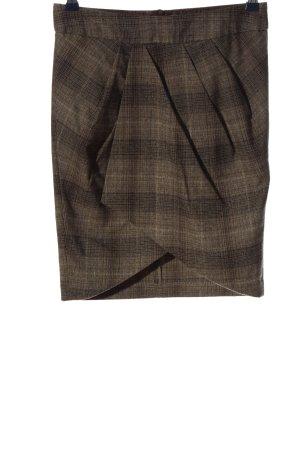 3suisses Spódnica mini brązowy Na całej powierzchni W stylu biznesowym
