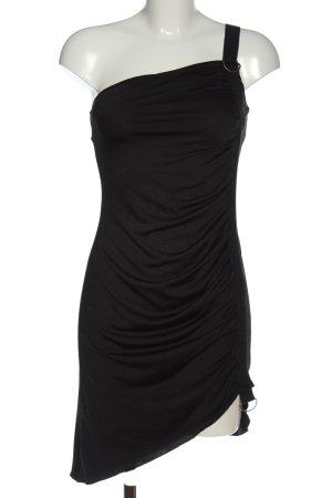 3suisses Robe asymétrique noir élégant