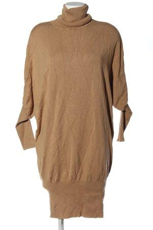 3suisses Swetrowa sukienka brązowy W stylu casual