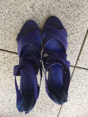 3suisses Sandales à lanière violet foncé