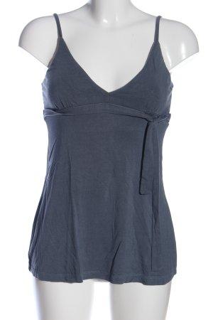 3suisses Top z cienkimi ramiączkami niebieski W stylu casual