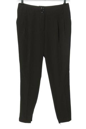 3suisses Spodnie garniturowe czarny W stylu biznesowym