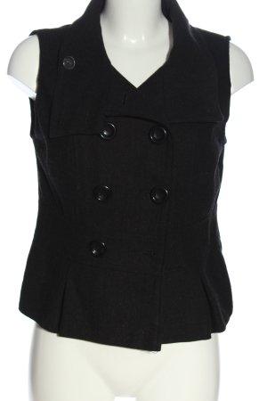 3suisses Gilet tricoté noir style décontracté
