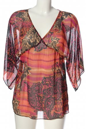3suisses Transparentna bluzka Na całej powierzchni W stylu casual