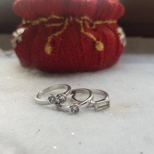 Metropolitan Silver Ring silver-colored