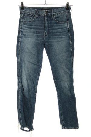 3x1 7/8 Jeans blau Casual-Look