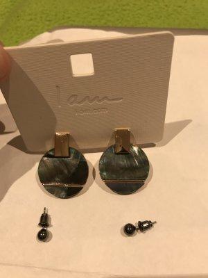 4 Paar Ohrringe