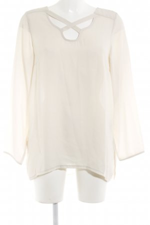 40 Grad Long Sleeve Blouse natural white business style