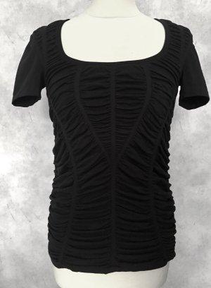 Wolford Cropped Shirt black nylon