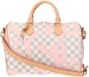 40015 Louis Vuitton Speedy 30 Damier Azur Tahitienne Canvas Tasche - Handtasche