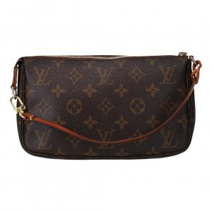 40261 LOUIS VUITTON POCHETTE ACCESSOIRES CLUTCH AUS MONOGRAM CANVAS
