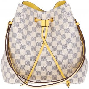 40298 Louis Vuitton NeoNoe Handtasche - Tasche aus Damier Azur Canvas
