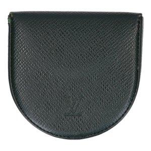 40316 Louis Vuitton Portemonnaie - Geldbörse Cuvette aus Taiga Leder in Vert Epicéa