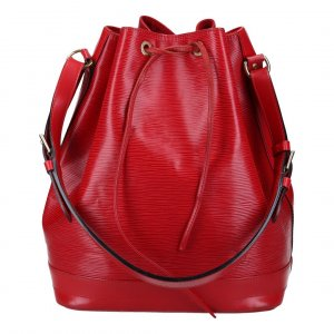 40457 LOUIS VUITTON NOE GM SCHULTERTASCHE AUS EPI LEDER IN CASTILLIAN ROT