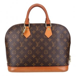 40703 LOUIS VUITTON ALMA PM HENKELTASCHE AUS MONOGRAM CANVAS