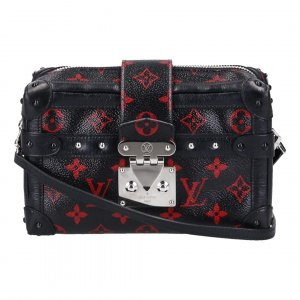 40734 LOUIS VUITTON PETIT MALLE UMHÄNGETASCHE AUS MONOGRAM INFRAROUGE CANVAS