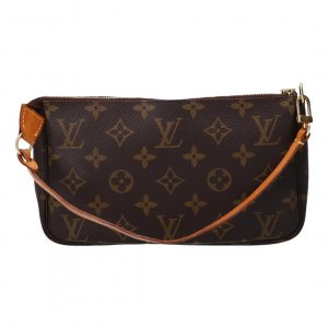 40831 LOUIS VUITTON POCHETTE ACCESSOIRES CLUTCH AUS MONOGRAM CANVAS