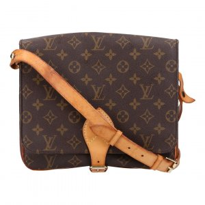 40837 LOUIS VUITTON CARTOUCHIÈRE GM UMHÄNGETASCHE AUS MONOGRAM CANVAS