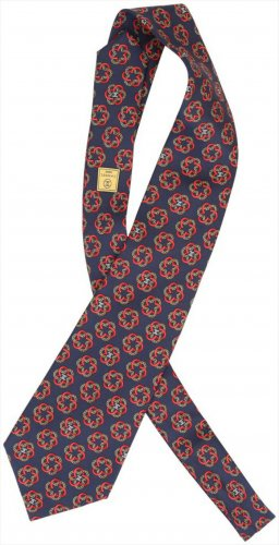 40900 Chanel Krawatten Schal aus Seide
