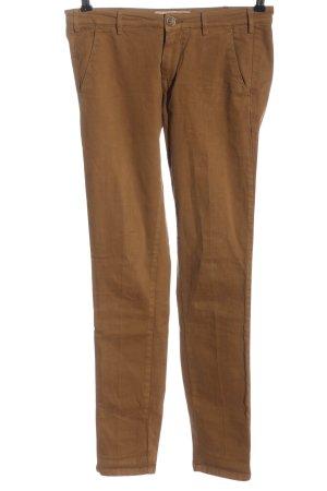 40Weft Pantalone a 7/8 marrone stile casual