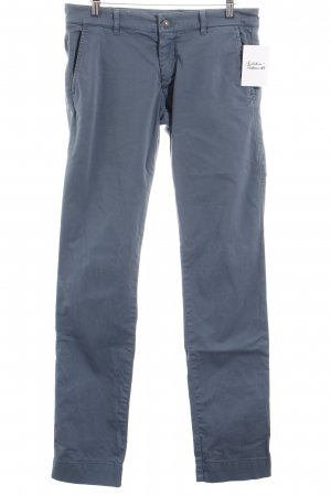 40Weft Chinohose graublau Casual-Look