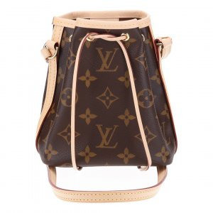 41043 LOUIS VUITTON NANO NOÉ UMHÄNGETASCHE AUS MONOGRAM CANVAS