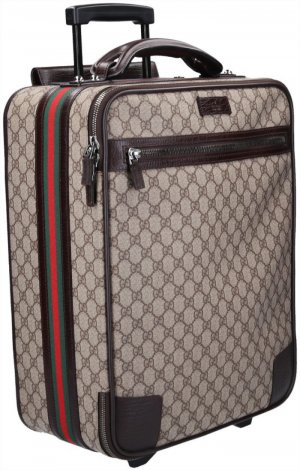 41153 Gucci Koffer Trolley aus GG Supreme Canvas