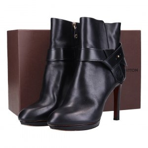 41759 Louis Vuitton Ankle Boot Stiefelette aus Kalbsleder in schwarz Gr. 40