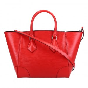 42541 LOUIS VUITTON PHENIX PM HENKELTASCHE AUS EPI LEDER IN COQUELICOT
