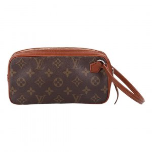 42574 LOUIS VUITTON CLUTCH AUS MONOGRAM CANVAS