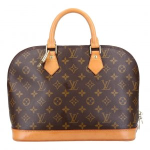 42645 LOUIS VUITTON ALMA PM HENKELTASCHE AUS MONOGRAM CANVAS