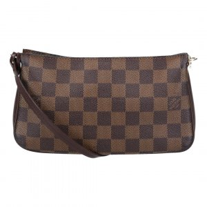 42679 LOUIS VUITTON NAVONA CLUTCH AUS DAMIER EBENE CANVAS