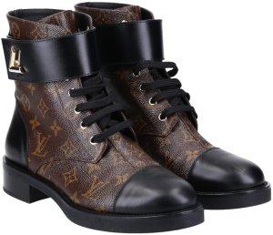 42705 Louis Vuitton Ankle Boot Schuhe Wonderland flach in Größe 41 mit Box