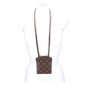 42734 LOUIS VUITTON POCHETTE SECRET BRUSTTASCHE AUS MONOGRAM CANVAS