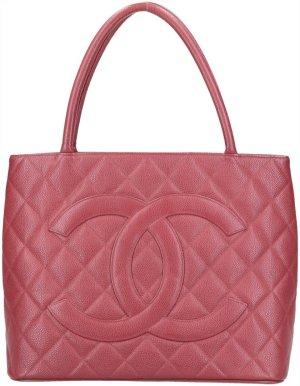 43239 Chanel Medallion Tote Shopper Handtasche aus genarbtem Kalbsleder