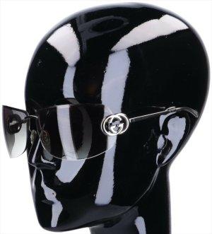 43681 Gucci Sonnenbrille 'GG2782/S' aus silberfarbenem Metall mit Etui