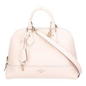 43868 Louis Vuitton Néo Alma PM Tasche Handtasche Monogram Empreinte Leder in Creme Clair