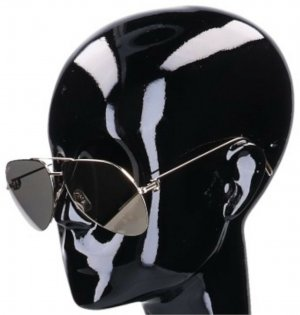 Cartier Gafas de piloto color oro metal